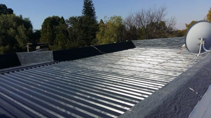 roof waterproofing