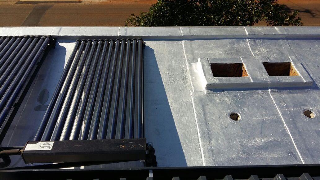 Torch on waterproofing