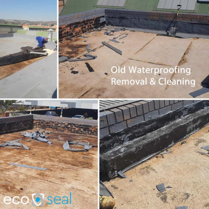 Old waterproofing removal