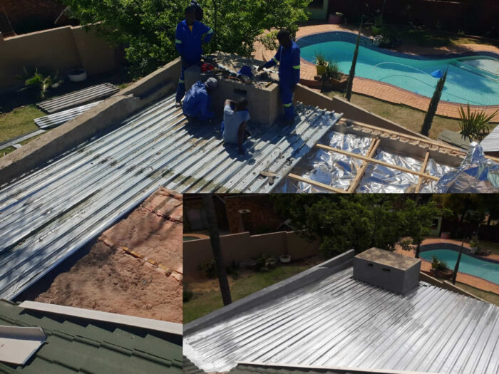 patio roof replacement waterproofing