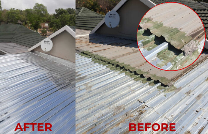 roof replacement new waterproofing