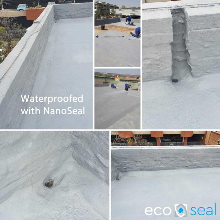 roof slab waterproofing nanoseal