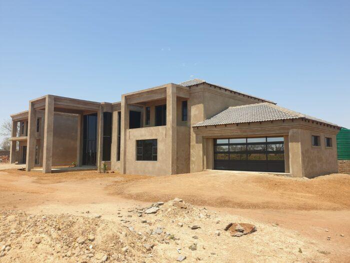 New concrete slab waterproofing