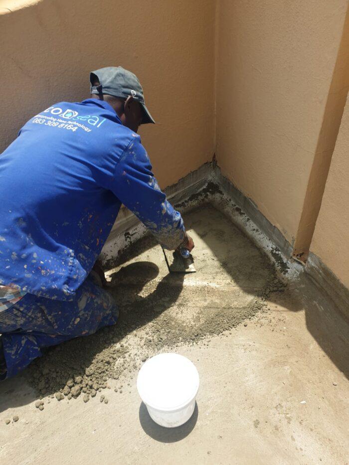 Torchon waterproofing repairs
