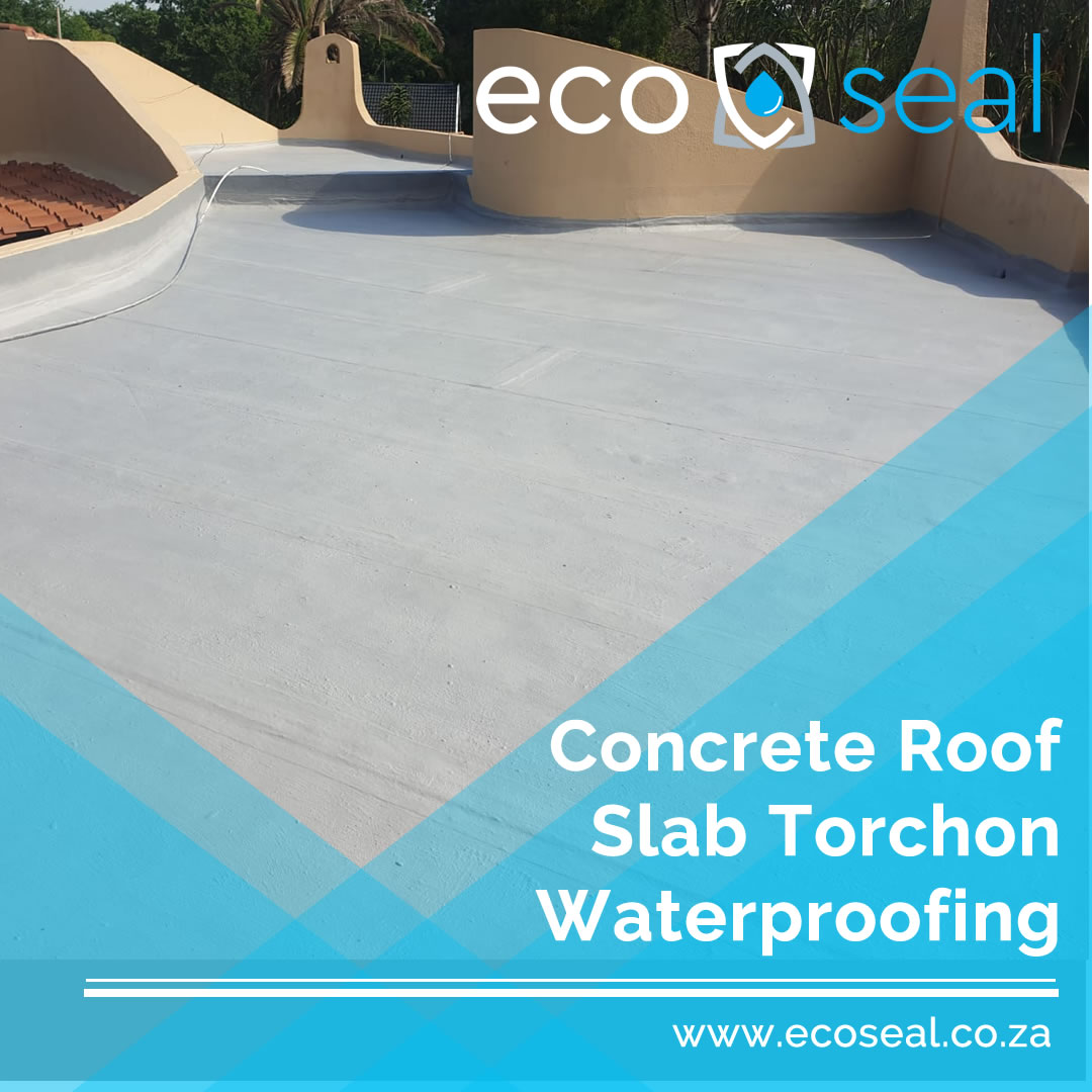 Concrete Roof Torchon Replacement Waterproofing