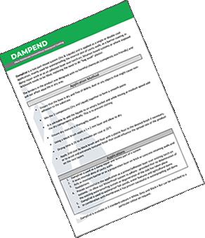 DampEnd Method Statement