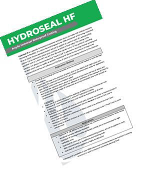HydroSeal HF Method Statement
