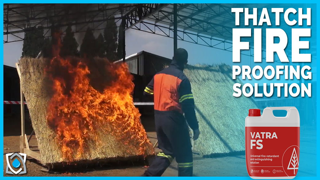 FIRE RETARDANT FOR THATCH ROOFING
