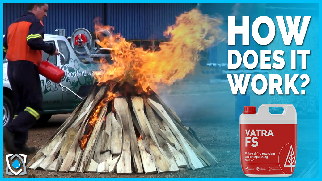 Vatra Fire Solution - HOW does it work on class a fires