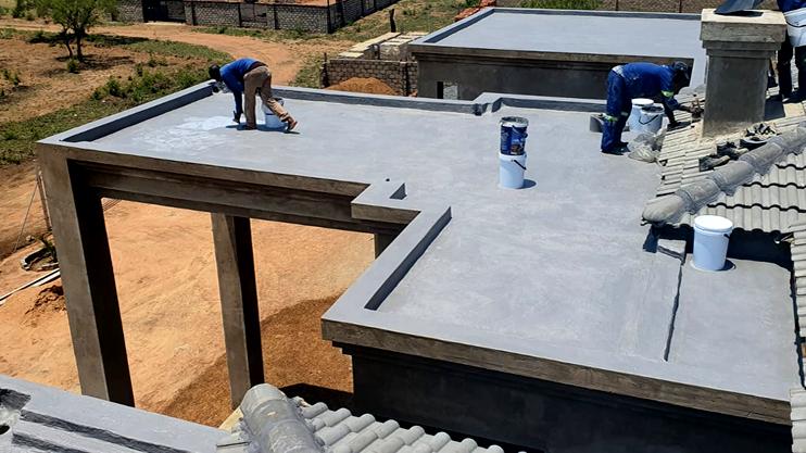 concrete slab waterproofing