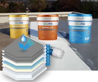 Roof Slab Concrete Waterproofing System