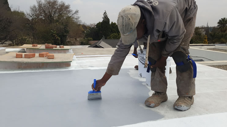 How to waterproof a new concrete roof slab