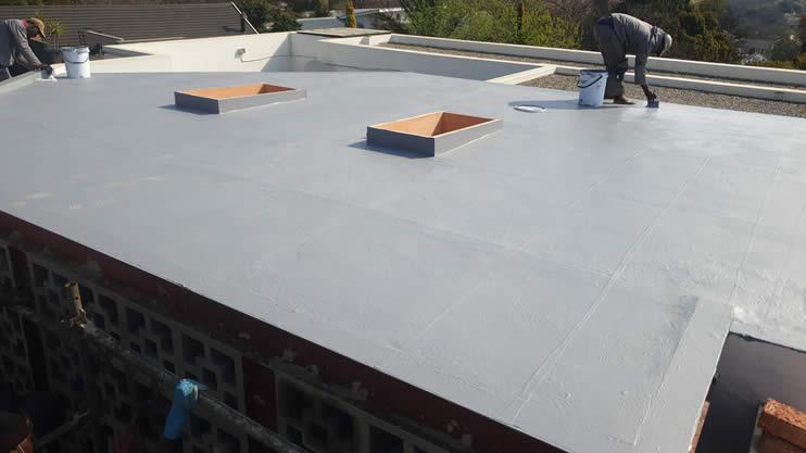 Lightweight Concrete Roof Slab Waterproofing